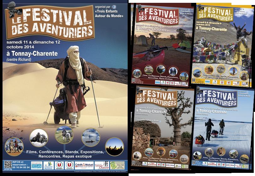 Affiche Festival des Aventuriers