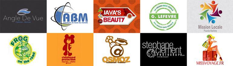 création graphique logotype d'entreprise, charte graphique par Stéphane Clément