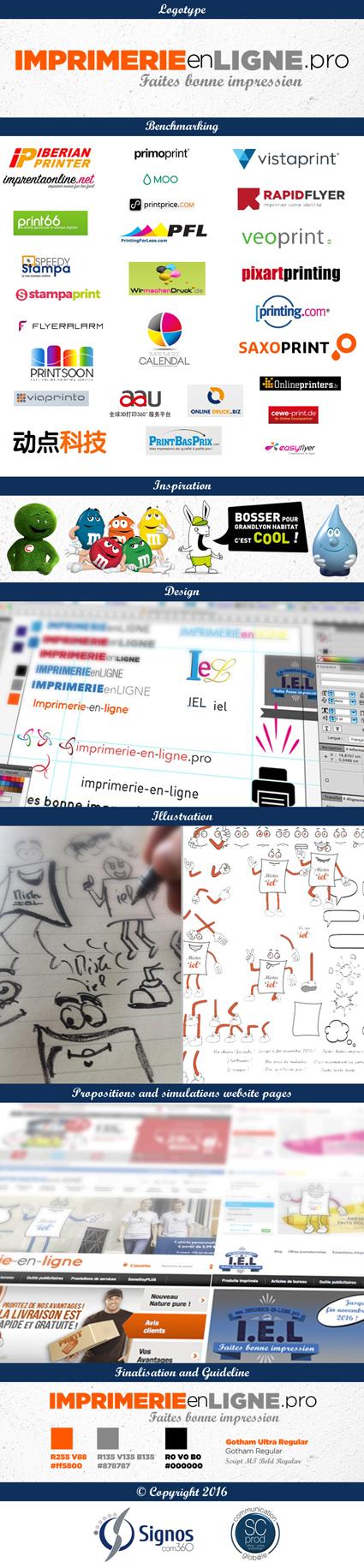 charte graphique infographie - par Signos Communication (Stéphane Clément)